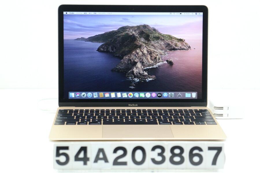 Apple MacBook Retina A1534 Early 2015 Core M-5Y31 1.1G/8G/256G(SSD)/12W/【中古】【20201030】
