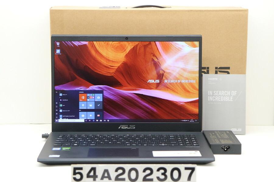 ASUS X571GT Core i7 9750H 2.6G/16G/512G(SSD)/15.6W/FHD/Win10/GTX1650【中古】【20201104】