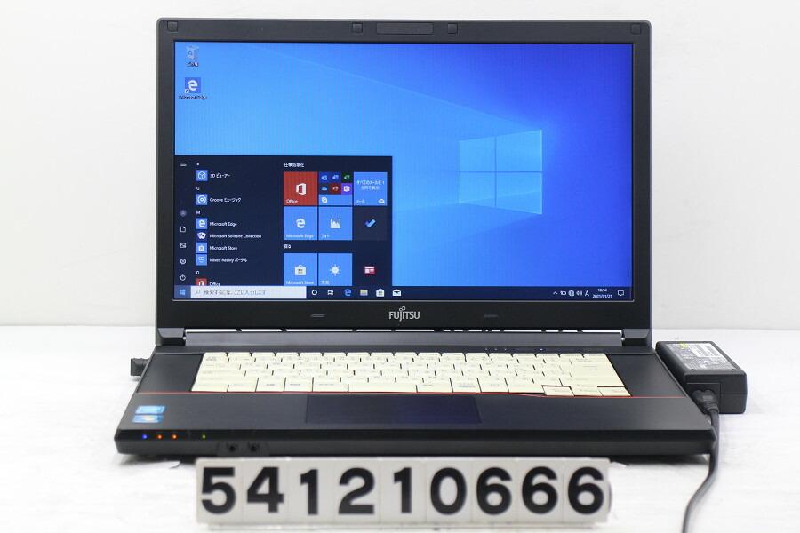 富士通 LIFEBOOK A574/M Celeron 2950M 2G/4G/128G(SSD)/Multi/15.6W/FWXGA/Win10【中古】【20210122】