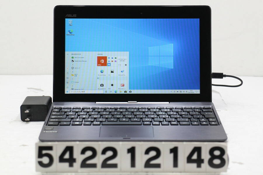ASUS TransBook T100TAL Atom Z3735D 1.33G/2G/32G/10.1W/FWXGA/Win10【中古】【20210309】