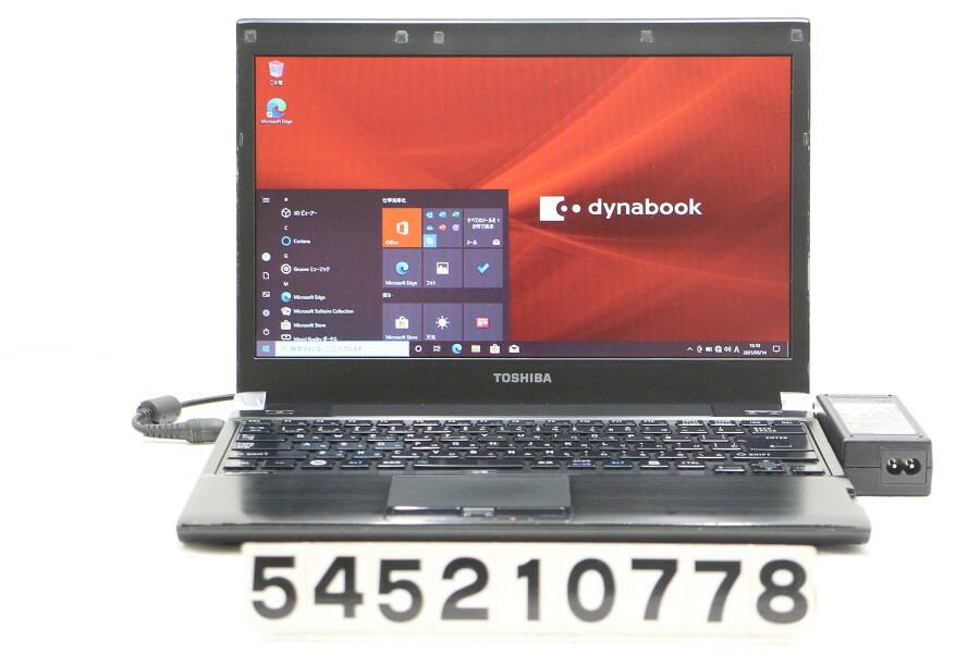 東芝 dynabook RX3 SN266E/3HD Core i5 M560 2.67G/4G/128G(SSD)/13.3W/FWXGA/Win10【中古】【20210515】