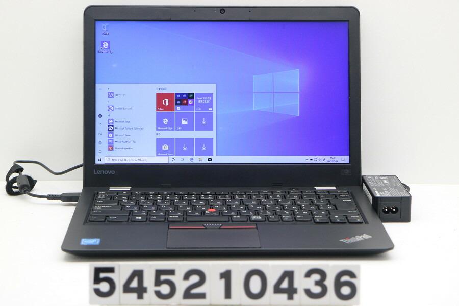 Lenovo ThinkPad 13 Celeron 3865U 1.8G/8G/128G(SSD)/13.3W/FWXGA/Win10【中古】【20210529】
