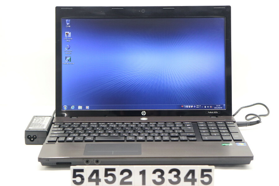 hp ProBook 4525s AMD PhenomII P920 1.6G/4G/320G/DVD/15.6W/FWXGA/Win7【中古】【20210605】