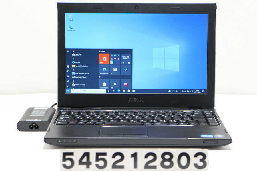 DELL Vostro 3350 Core i3 2310M 2.1G/4G/128G(SSD)/Multi/13.3W/FWXGA/Win10【中古】【20210609】