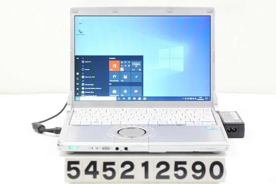 Panasonic CF-N9KW5MDS Core i5 520M 2.6G/4G/128G(SSD)/12.1W/WXGA/Win10【中古】【20210612】