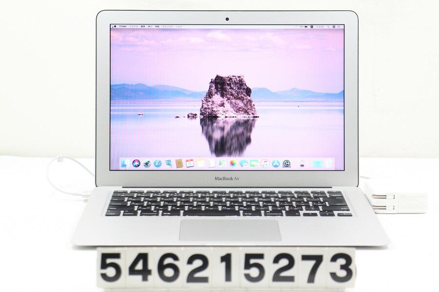 Apple MacBook Air Mid 2012 Core i5 3427U 1.8G/4G/128G(SSD)/13.3W/WXGA+【中古】【20210709】