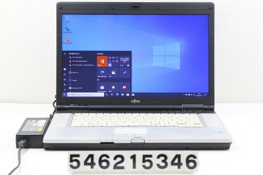 富士通 LIFEBOOK E780/A Core i5 M520 2.4G/4G/500G/Multi/15.6W/FWXGA/RS232C/Win10【中古】【20210714】