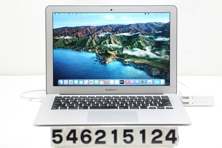 Apple MacBook Air Early 2015 Core i5 5250U 1.6G/4G/128G(SSD)/13.3W/WXGA+【中古】【20210723】