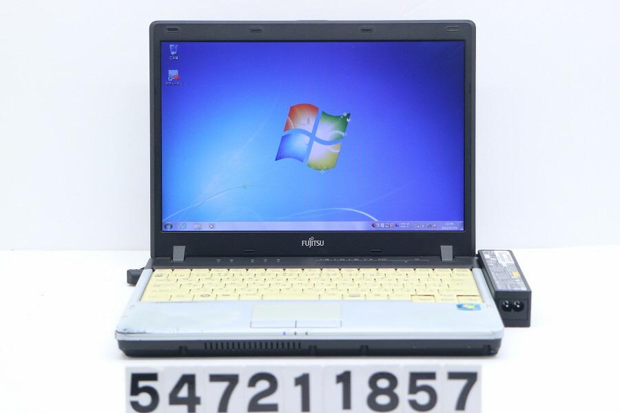 富士通 LIFEBOOK P750/A C2D U9400 1.4G/3G/160G/12.1W/WXGA/Win7【中古】【20210720】
