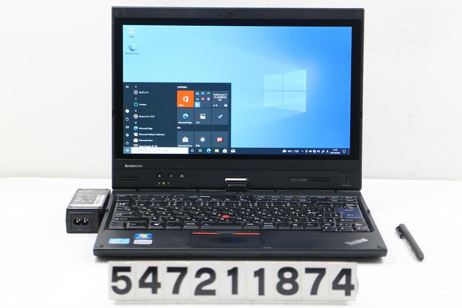 Lenovo ThinkPad X220i Tablet Core i3 2350M 2.3G/4G/128G(SSD)/12.5W/FWXGA/Win10【中古】【20210721】