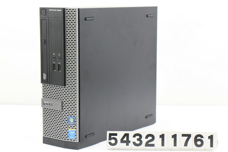 DELL Optiplex 3020 SFF Celeron G1840 2.8G/4G/128G(SSD)/DVD/Win10【中古】【20210724】