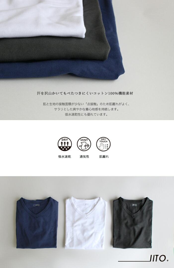 シンプルで使いやすい半袖シャツ