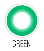 グリーンカラコン