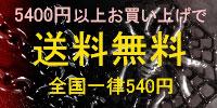 5,400円以上のお買い上げで送料無料!!