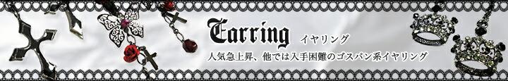 Earring イヤリング 人気急上昇、他では入手困難のゴスパン系イヤリング