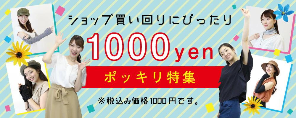 1000円ポッキリ特集