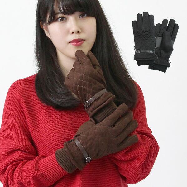 婦人防水発熱手袋