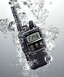 IP67の高い防塵・防水性能IC-4350