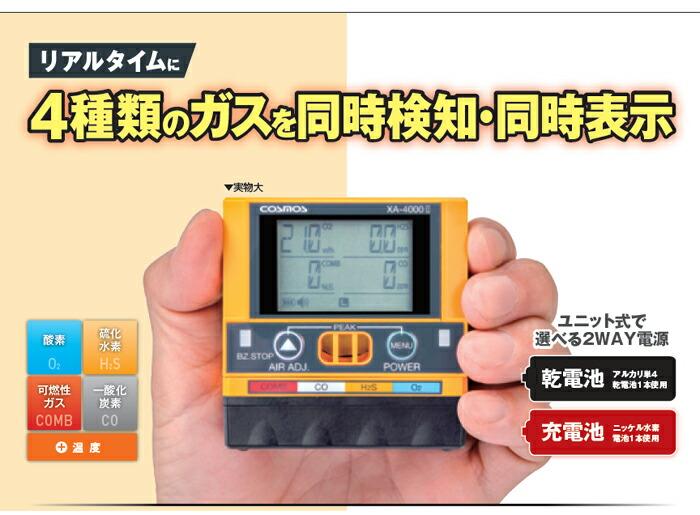 マルチ型ガス検知器
