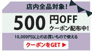 クーポン500円