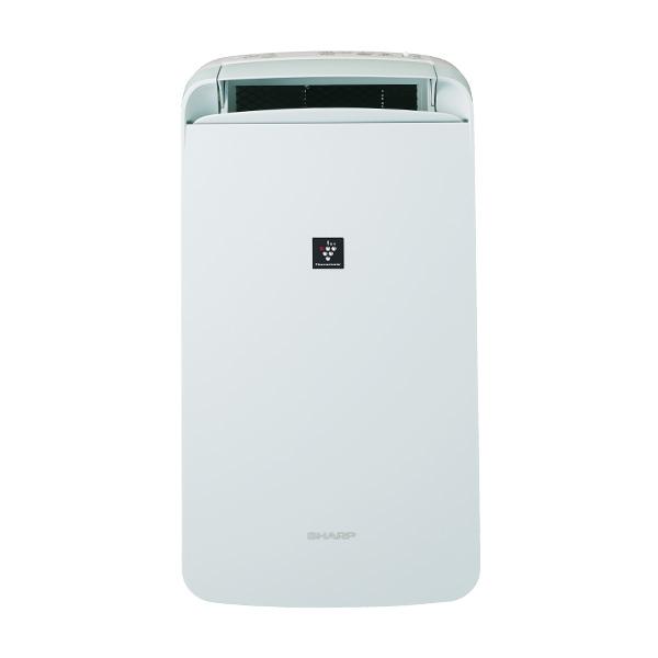 シャープ 「冷風・衣類乾燥」除湿機 CM-J100-W(ホワイト系) 高濃度プラズマクラスター7000搭載 SHARP