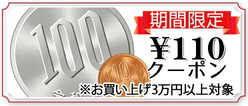110円クーポン