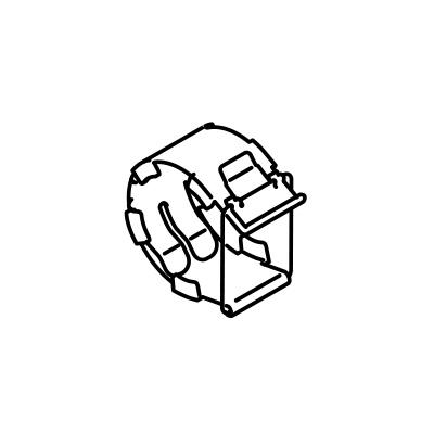 リンナイ FOT-129(φ50用 パチンストッパー) ガスFF暖房機オプション RHF-1005FT用 給排気管 10-5180