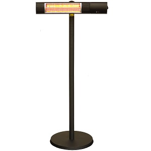 Chrester(クレスター) 家庭用 防水ピクシーヒーター(スタンド付) HEAT-R-101BSH スタンド設置タイプ 暖房機 コンフォー Comfort【送料無料】