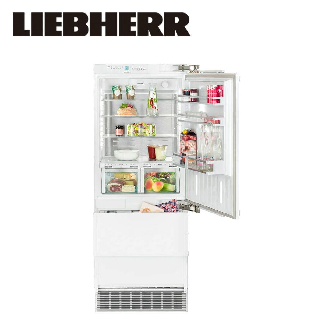 【一都三県は送料・開梱設置無料】リープヘル 冷蔵庫 LIEBHERR ECBN5066 PremiumPlus 462L ビルトイン Built-in Fridge-Freezer 冷凍庫【代引不可】