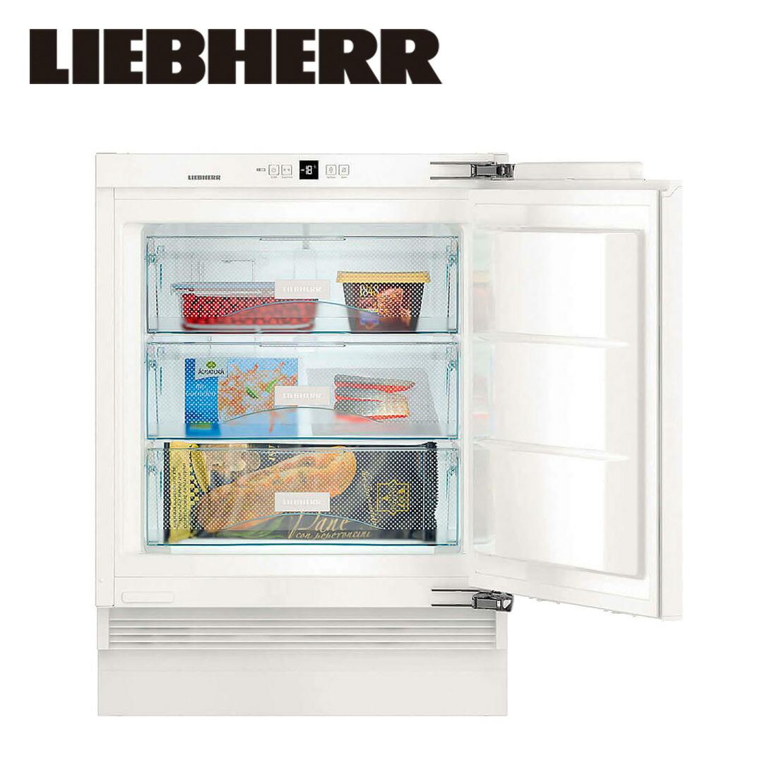 【一都三県は送料・開梱設置無料】リープヘル 冷凍庫 LIEBHERR SUIG1514 Comfort 98L ビルトイン Built-in Fridge-Freezer Undercounter【代引不可】