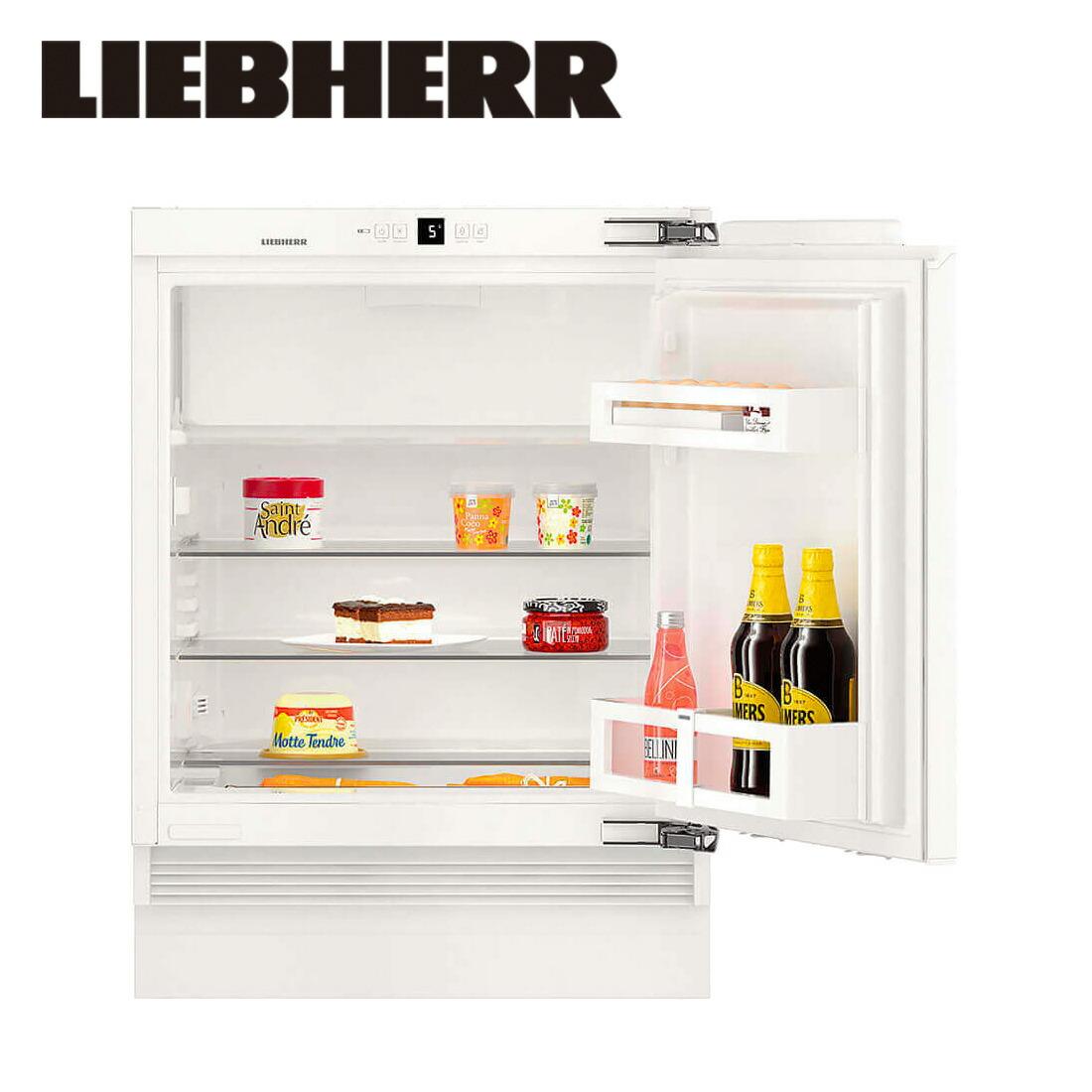 【一都三県は送料・開梱設置無料】リープヘル 冷蔵庫 LIEBHERR UIK1514 Comfort 122L ビルトイン Built-in Fridge-Freezer Undercounter 冷凍庫【代引不可】