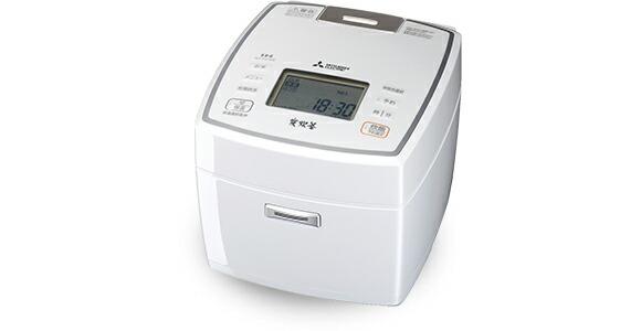 【代引手数料無料】【送料無料】三菱電機 Mitsubishi Electric 炊飯器 NJ-VV189 最大10合炊き ピュアホワイト