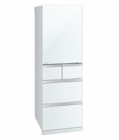 [設置無料]三菱電機 MITSUBISHI ELECTRIC 冷蔵庫 MR-B46E-W クリスタルピュアホワイト  455L 高さ182cm ※代引不可<br>
