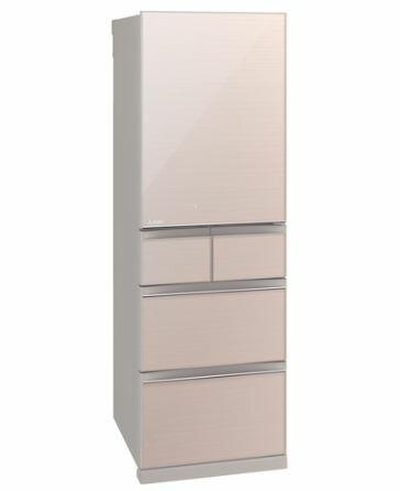 [設置無料]三菱電機 MITSUBISHI ELECTRIC 冷蔵庫 MR-B46E-F クリスタルフローラル  455L 高さ182cm ※代引不可