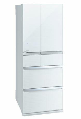 【在庫・納期お問合せ下さい】[設置無料]三菱電機 MITSUBISHI ELECTRIC 冷蔵庫 スマート大容量WXシリーズ MR-WX47LF-W クリスタルホワイト  470L 高さ1,696mm