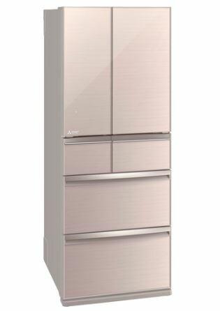 【在庫・納期お問合せ下さい】[設置無料]三菱電機 MITSUBISHI ELECTRIC 冷蔵庫 スマート大容量WXシリーズ MR-WX47LF-F クリスタルフローラル  470L 高さ1,696mm