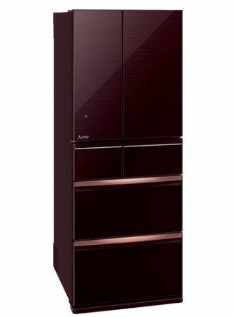 [設置無料]三菱電機 MITSUBISHI ELECTRIC 冷蔵庫 スマート大容量WXシリーズ MR-WX47LE-BR クリスタルブラウン  470L 高さ1,696mm