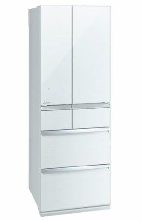 [設置無料]三菱電機 MITSUBISHI ELECTRIC 冷蔵庫 スマート大容量WXシリーズ MR-WX47LE-W クリスタルホワイト  470L 高さ1,696mm