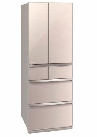 [設置無料]三菱電機 MITSUBISHI ELECTRIC 冷蔵庫 スマート大容量WXシリーズ MR-WX52E-F クリスタルフローラル  517L 幅650mm