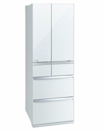 [設置無料]三菱電機 MITSUBISHI ELECTRIC 冷蔵庫 スマート大容量WXシリーズ MR-WX52E-W クリスタルホワイト  517L 幅650mm