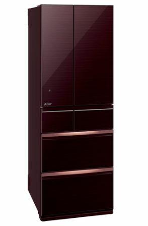 [設置無料]三菱電機 MITSUBISHI ELECTRIC 冷蔵庫 スマート大容量WXシリーズ MR-WX52E-BR クリスタルブラウン  517L 幅650mm