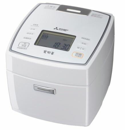 三菱電機 Mitsubishi Electric 炊飯器 NJ-VVA10 0.5~5.5合 ピュアホワイト