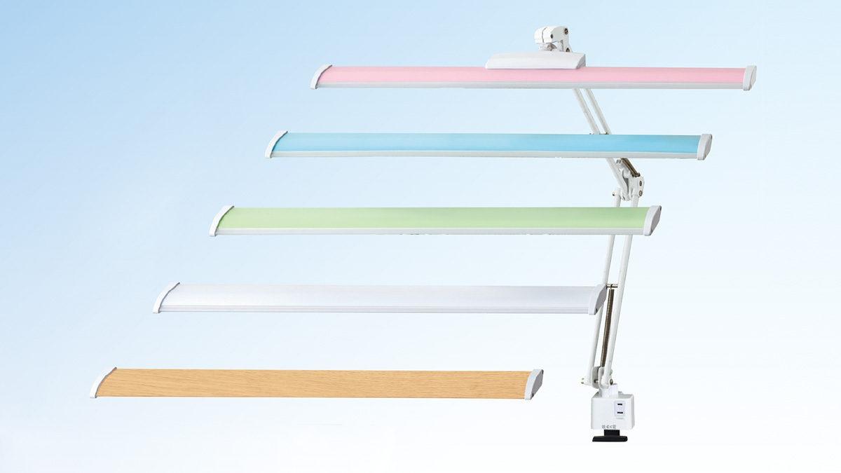 浜本工芸 2022年モデル C3764 LEDデスクライト C3764P/BL/G/W/WD ◆代引き不可