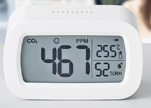 卓上CO2モニター CD10  KING JIM シンプルデザイン 3密回避 CO2測定器