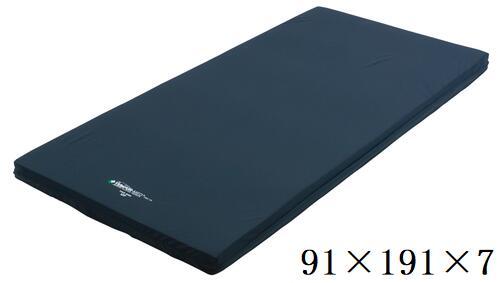 テンピュール tempur MEDオーバーレイマットレス (溶着タイプ)ブルー 91×191×7 床ずれ防止 体圧分散