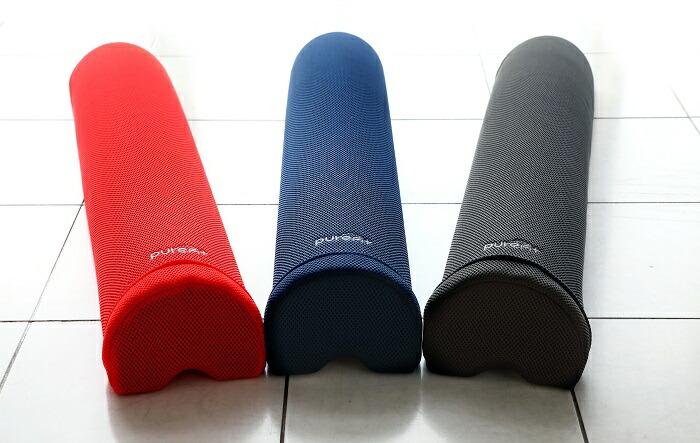 エクササイズクッションpurefit ピュアフィット ストレッチネックボディ PF7500 レッド ブルー エクササイズ 【代引き不可】