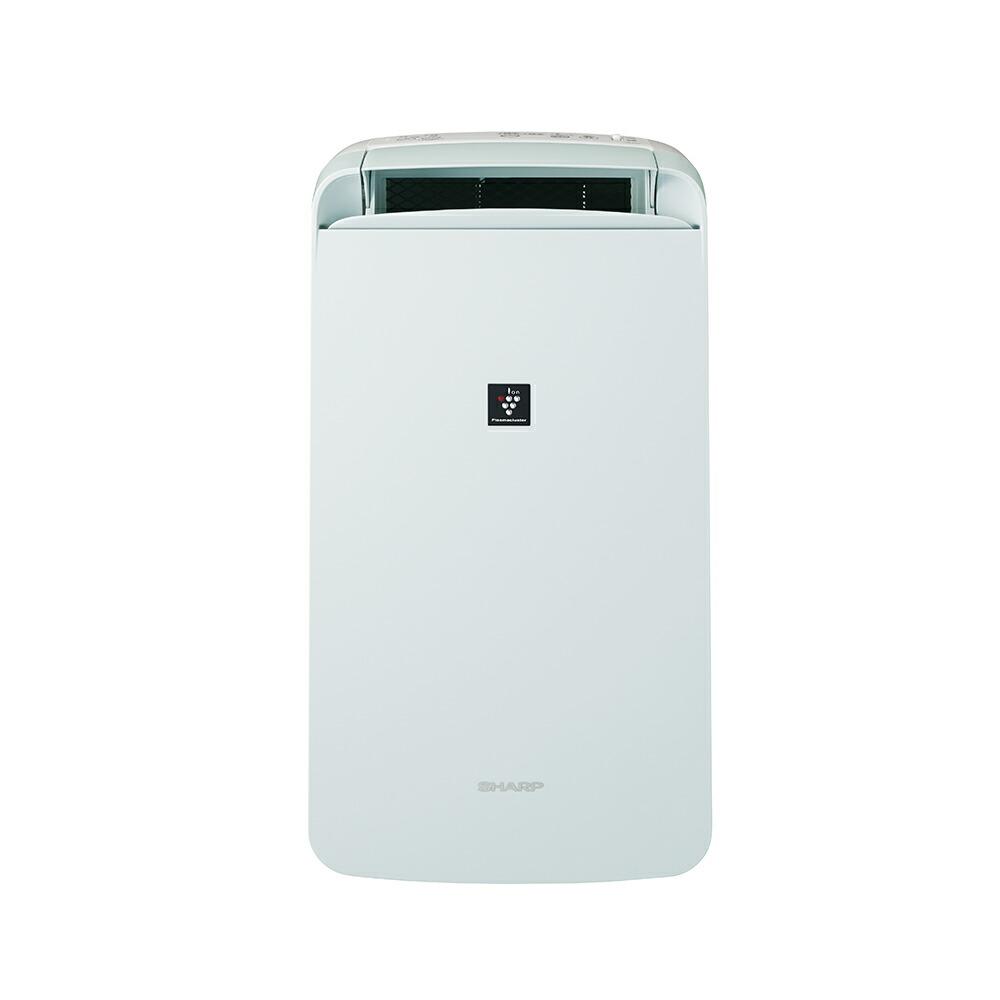 除湿機 CM-L100-W SHARP 冷風・衣類乾燥除湿機 アイスホワイト プラズマクラスタ-7000