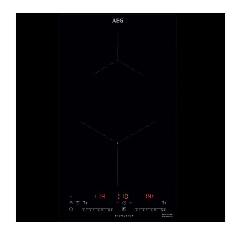 AEG 2口IHクッキングヒーター AHI326CB ドロップイン