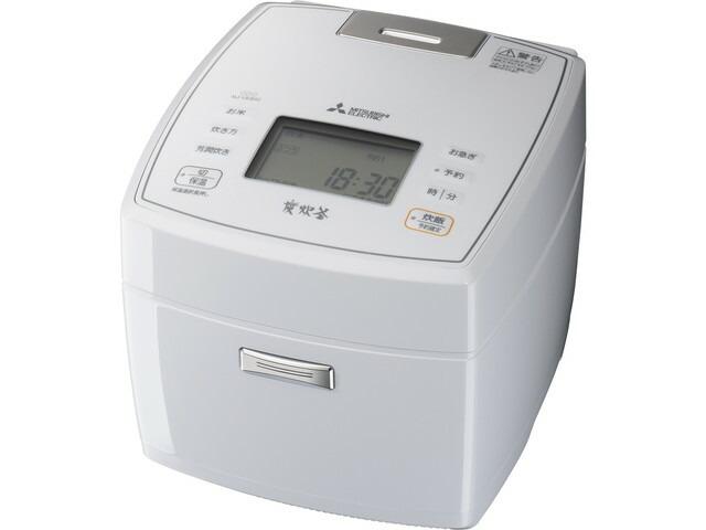 【2020年8月以降入荷予定】【送料無料】三菱電機 Mitsubishi Electric 炊飯器 炭炊釜 NJ-VEB10 0.5~5.5合 月白