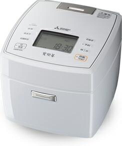 【送料無料】三菱電機 Mitsubishi Electric 炊飯器 炭炊釜 NJ-VEB18 1~10合 月白